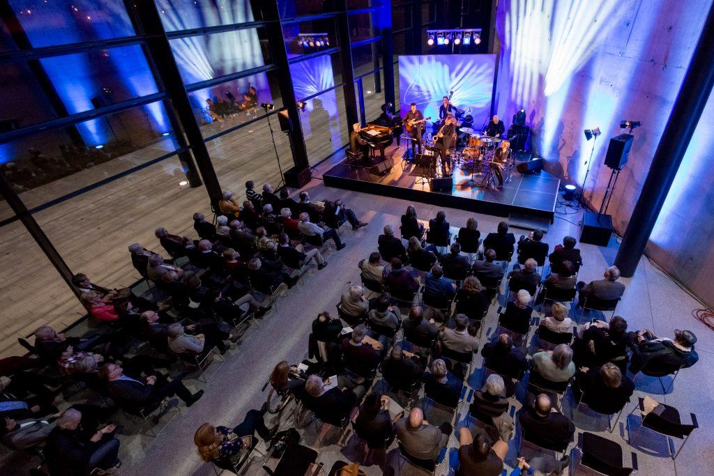Eine Aufnahme vom Konzert im Rahmen des Kurt-Weill-Festes im MDR Landesfunkhaus in Magdeburg am 06.03.2015. Foto: MDR/Andreas Lander