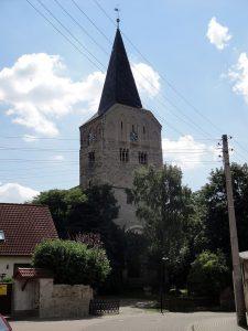 Foto der Kirche St. Martinus in Altenweddingen heute
